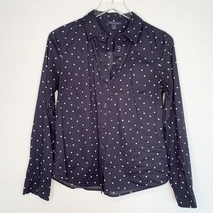 TOMMY HILFIGER Womens Button Down Collared…